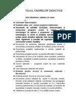 Portofoliu Cadre Didactice