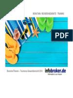 Reise und Tourismus BranchenThemen Gesamtübersicht 2013