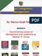 LECTURE 5 Integration