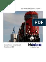 Transport & Logistik BranchenThemen Gesamtübersicht 2013