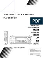 Instruction Manual for JVC RX-884VBK