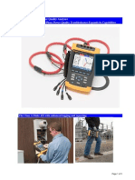 Fluke 435 Logging Power Quality Analyzer