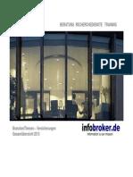 Versicherungen BranchenThemen Gesamtübersicht 2013