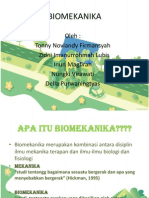 Prinsip dasar Biomekanik