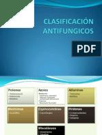 CLASIFICACIÓN ANTIFUNGICOS
