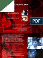 Curriculum de Ana Victoria Garro, artista plástica y narradora oral.