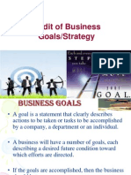 Audits of Business Goals & Plans (1)
