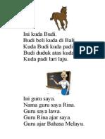 Ini Kuda Budi