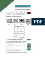 Vérification du dallage sous l'effet d'une charge concentrée (Norisko).xls