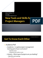 New PM Tools AIChE Spring 09