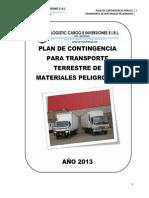 Ejemplo Plan de Contingencia 2013