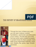 20586 the history of belarusian dolls