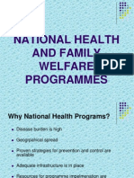 national health &family welfare