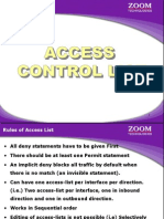 Day9-2 Access Control List