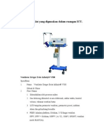 Alat-Alat Ruang ICU