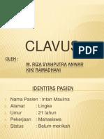 Kelas B - Clavus_tugas Kulit Presentasi Kasus (M. Riza Syahputra)