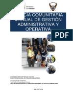 Manual de Gestion Operativa y Administrativa en Una Upc