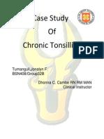 Case Study-Chronic Tonsillitis