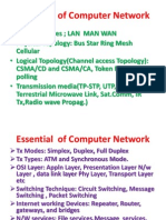 Essential of Computer Network