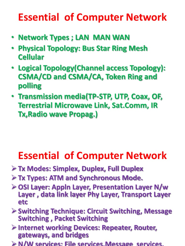 Essential Of Computer Network Switch Topology The Tcp Ip Guide Circuit Switching And Packet Networks