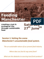 FeedingManchester Session One & Two Presentations