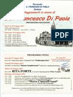 Festa s Francesco Di Paola