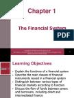 Chapter 01 - a Modern Financial System an Overview