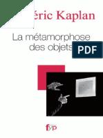 22052708 La Metamorphose Des Objets