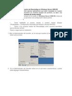 Instalación y configuración de RemoteApp en Windows Server 2008 R2
