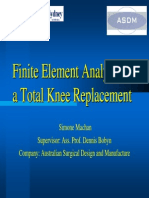 Knee Replacement Fe Model