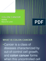 Colon Cancer Ppt