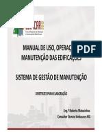 Manual de Uso Operacao e Manutencao Das Edificacoes-roberto Matozinhos