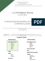 14-At I Materiali Pietra-Legno 12-13 - Corso Architettura Tecnica