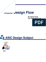 01 ASIC Design Flow