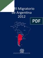 Perfil Migratorio de Argentina2012