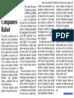 Compañero Rafael