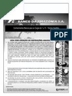 Basa Cargos 1 a 15 Cespe 2012 Cb