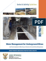 BPG_A6Water Management for Underground Mines