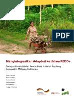 Pramova 2013 Mengintegrasikan Adaptasi Ke Dalam REDD