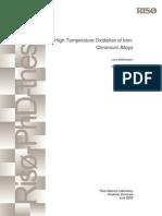 PhD Thesis High Temperatute Oxidation ChromiumAlloys