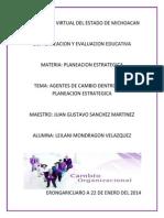 Lmondragon_agentes de Cambio Planeacion Estrategica