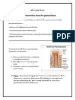 Periodontitis as a Risk Factor for Systemic Disease