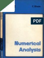Dixon NumericalAnalysis
