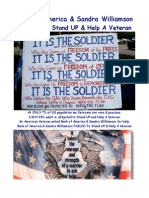 Bank of America & Sandra Williamson FAILED To Stand UP & Help A Veteran