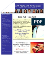 NYU Department of Pediatrics Newsletter 2.18.2008