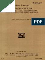 IS CODE 11216-1985