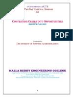 Mba Seminar Report
