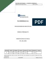 Std Job Eo005 Subestacion Electrica Julio09