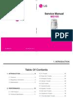 Lg Mg105 Service Manual