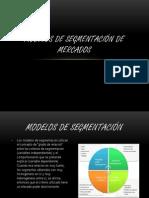 Modelos de segmentación de mercados
